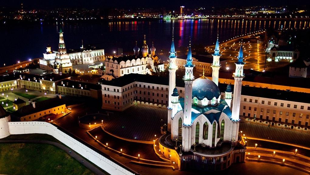 Экскурсия ночная Казань