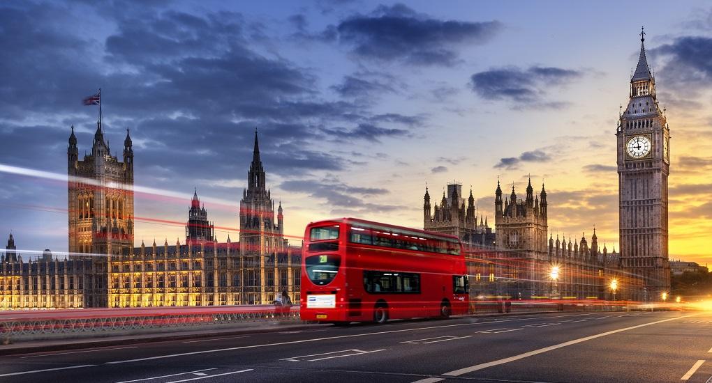 Автобусная экскурсия по Лондону