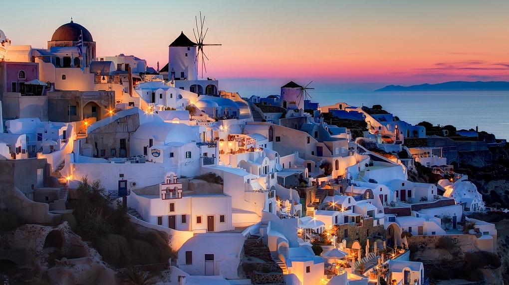 Экскурсии с Крита на Санторини