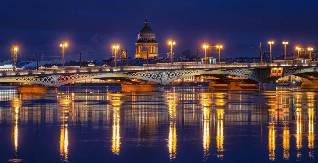 Экскурсия ночной Петербург