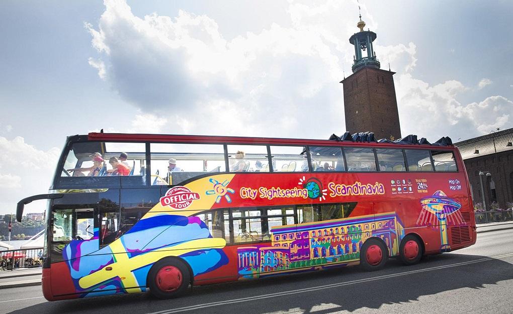 Автобусная экскурсия по Стокгольму