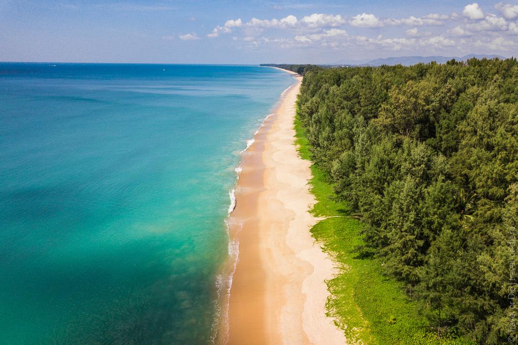 mai khao beach пляж май као