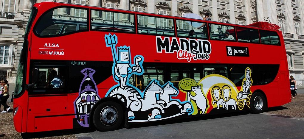 Автобусная экскурсия по Мадриду