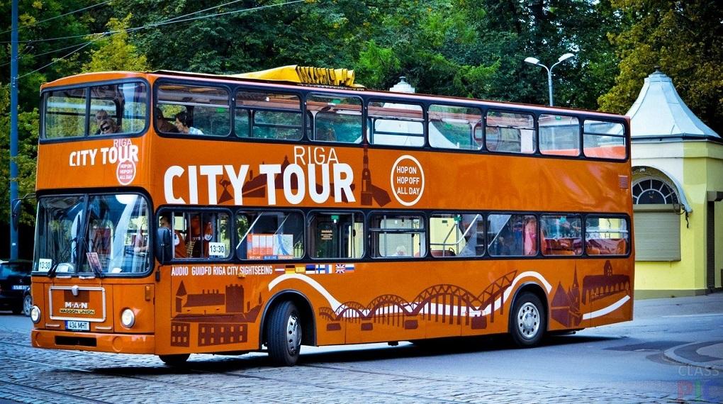Автобусная экскурсия по Риге