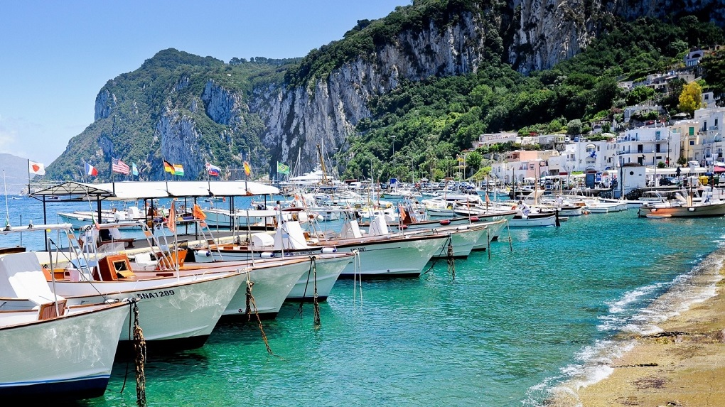 Экскурсии на Капри из Неаполя