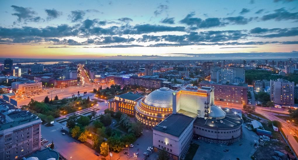 Экскурсия по ночному Новосибирску