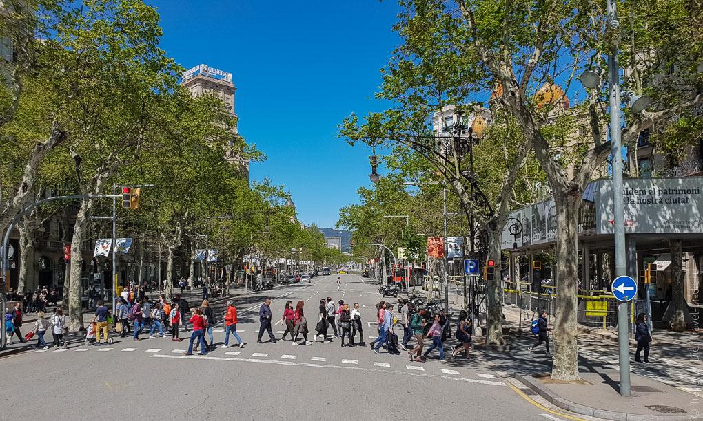Барселона за 1 день. Экскурсия по Барселоне на автобусе 8