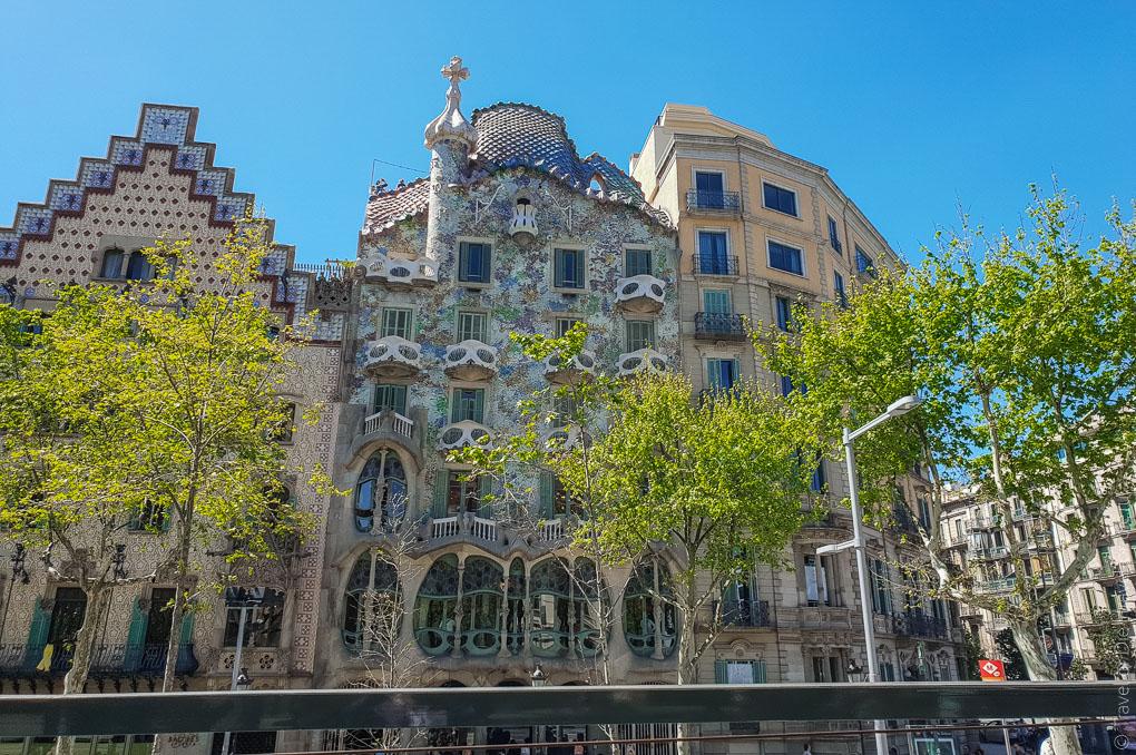 Барселона за 1 день. Экскурсия по Барселоне на автобусе 19