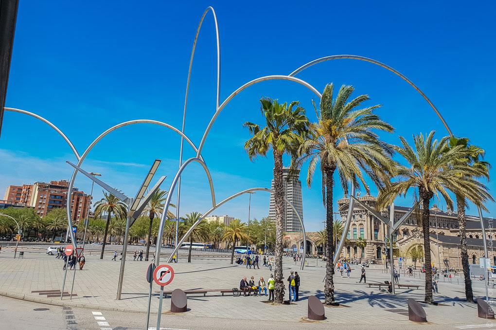 Барселона за 1 день. Экскурсия по Барселоне на автобусе 4