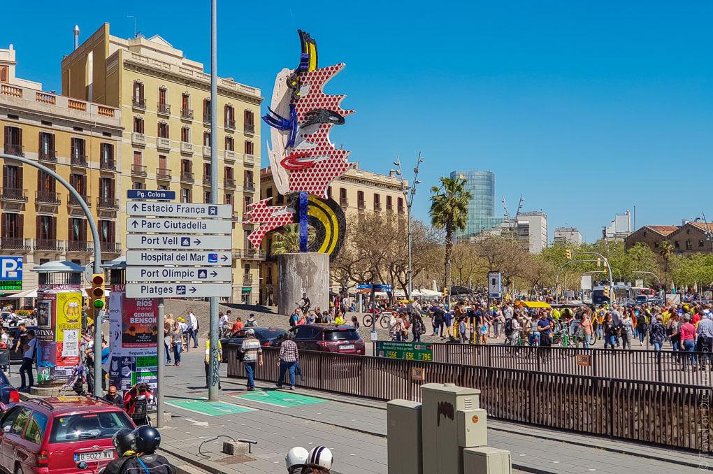 Барселона за 1 день. Экскурсия по Барселоне на автобусе 16