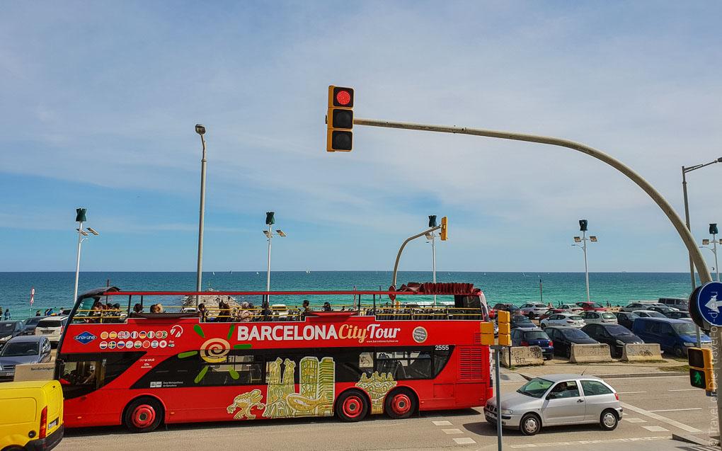 Барселона за 1 день. Экскурсия по Барселоне на автобусе 100