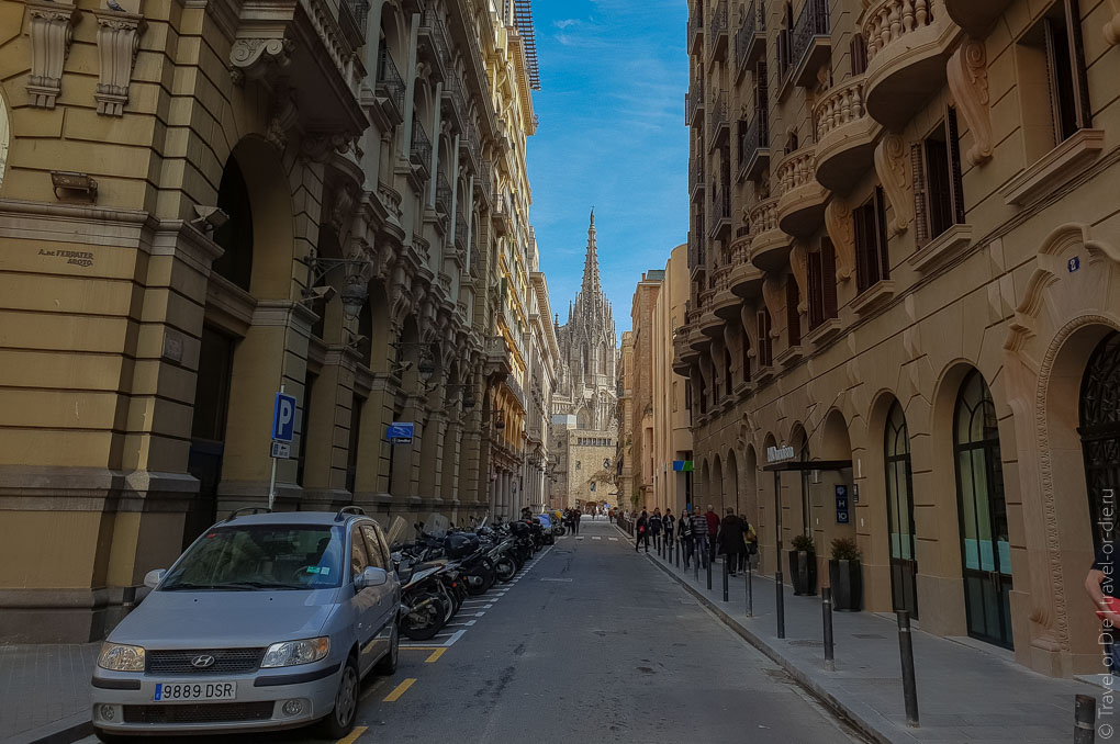 Барселона за 1 день. Экскурсия по Барселоне на автобусе 3