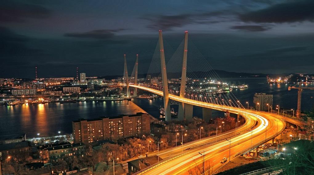 Экскурсия по вечернему Владивостоку