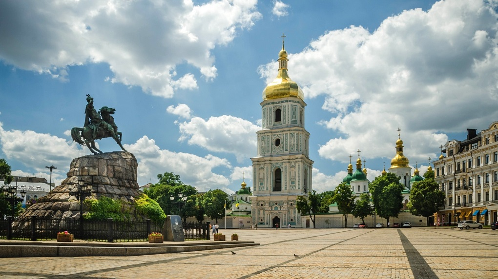 Пешеходная экскурсия по Киеву