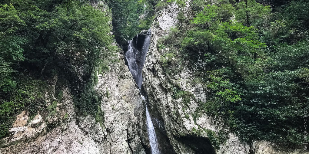 агурские водопады в сочи