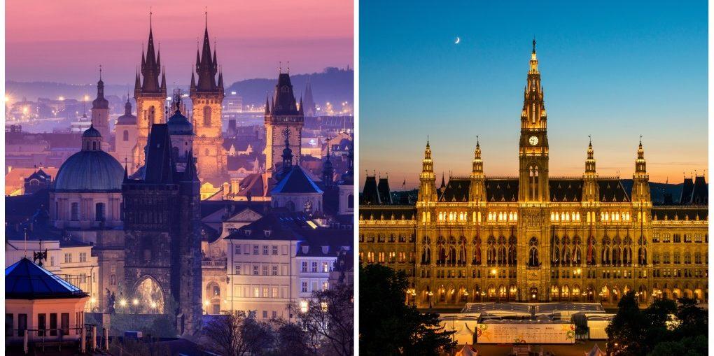 Экскурсии из Праги в Вену