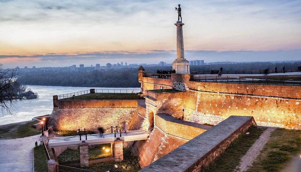 Достопримечательности Белграда - Белградская крепость Калемегдан