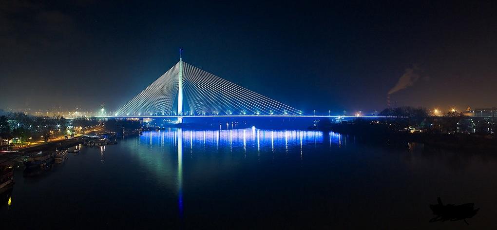 Достопримечательности Белграда - Мост над Адой