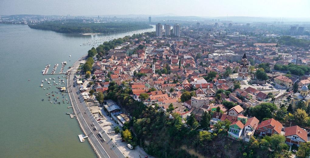 Достопримечательности Белграда - Набережная Земуна