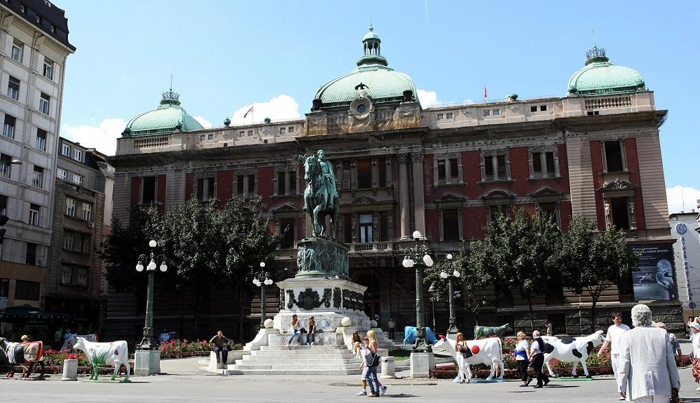 Достопримечательности Белграда - Национальный музей Сербии