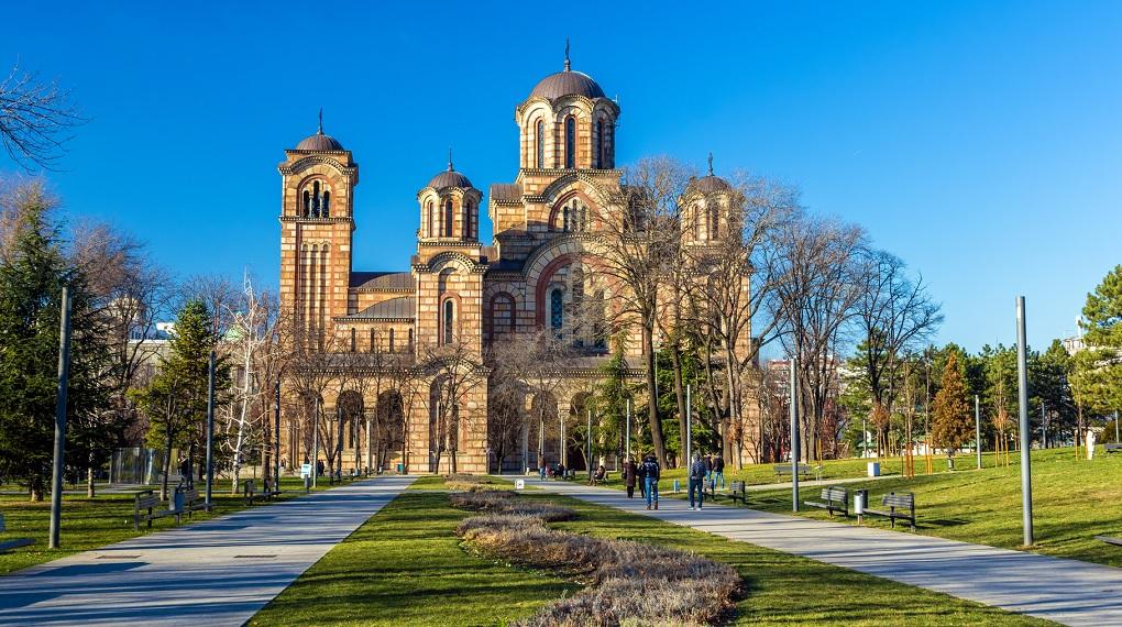 Достопримечательности Белграда - Церковь Святого Марка