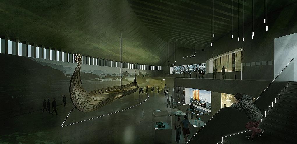 Достопримечательности Осло. Музей кораблей викингов
