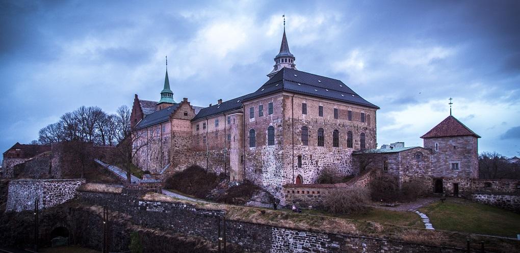 Достопримечательности Осло. Замок Акерсхус.