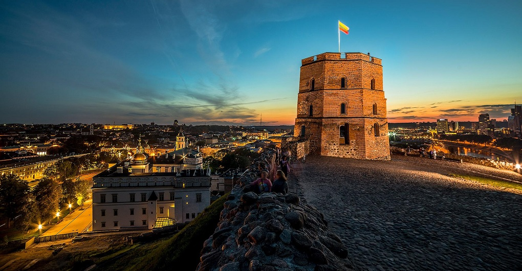 Достопримечательности Вильнюса - Башня Гедимина