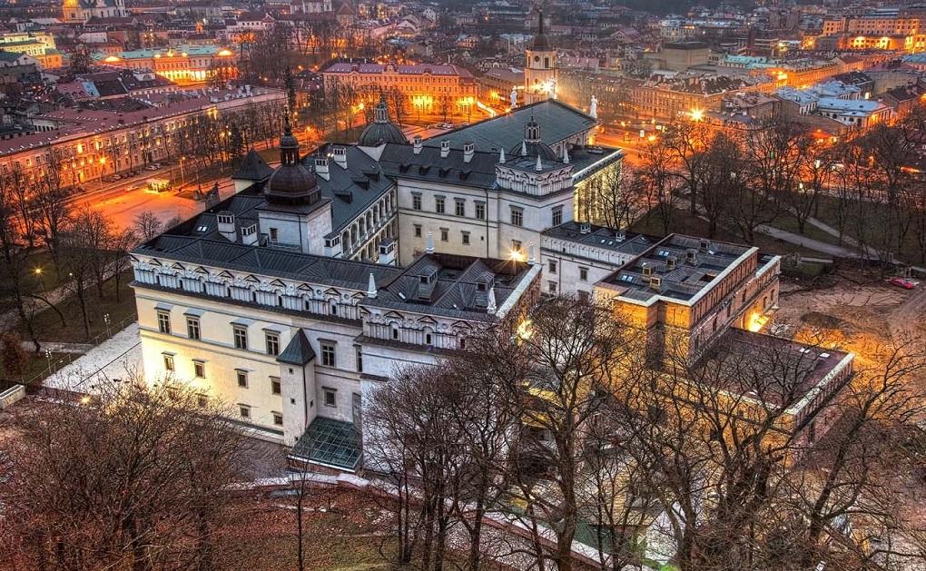 Достопримечательности Вильнюса - Дворец великих князей литовских