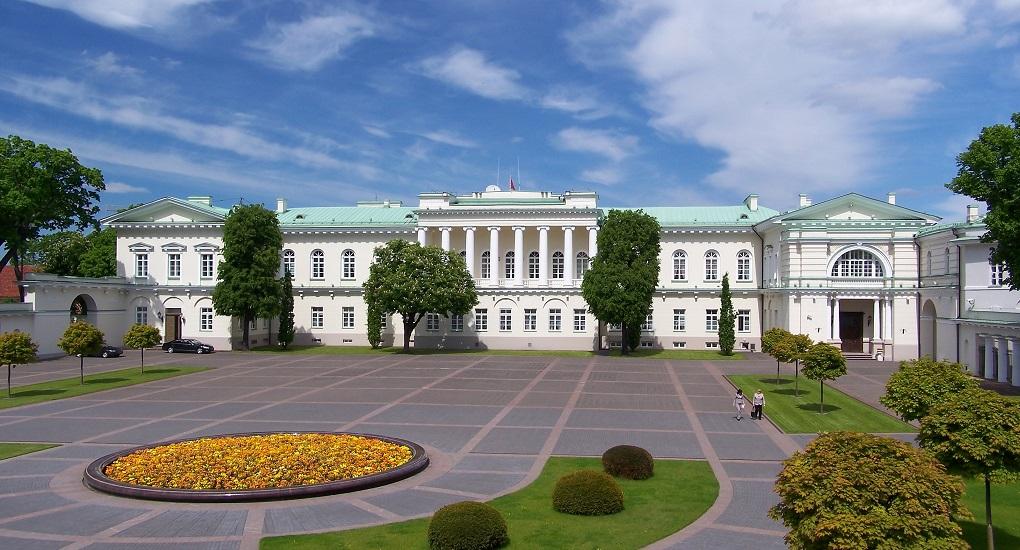 Достопримечательности Вильнюса - Президентский дворец