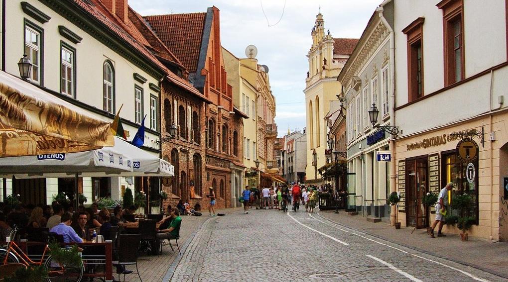 Достопримечательности Вильнюса - Улица Пилес