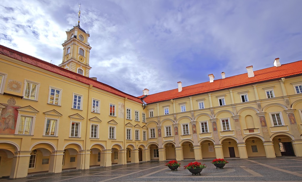 Достопримечательности Вильнюса - Вильнюсский университет