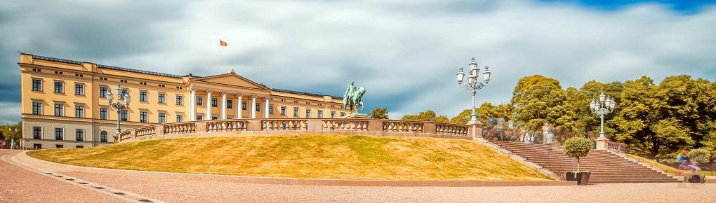 Достопримечательности Осло. Королевский дворец Осло