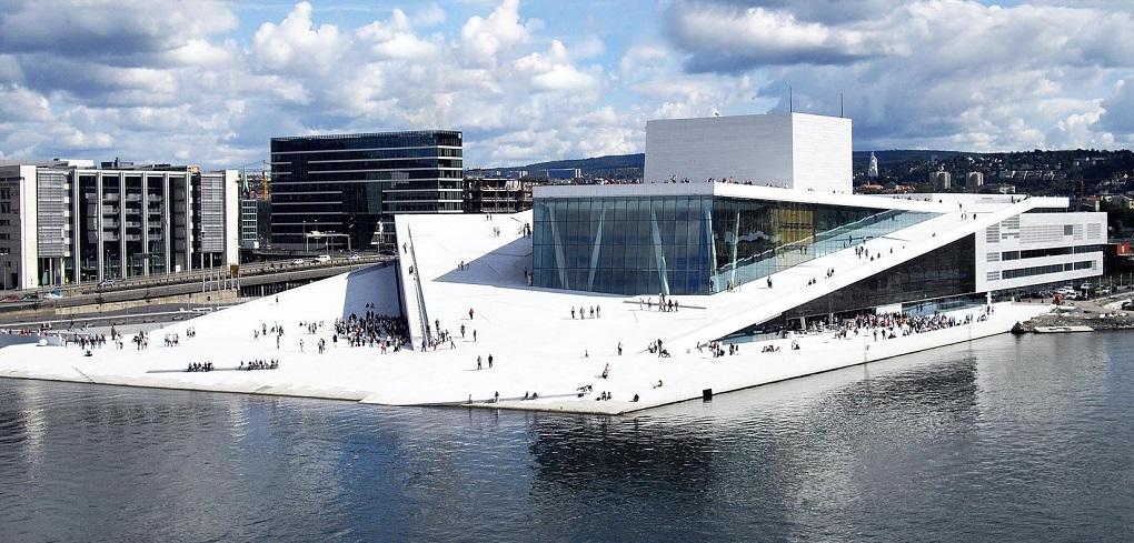 Достопримечательности Осло. Оперный театр Осло