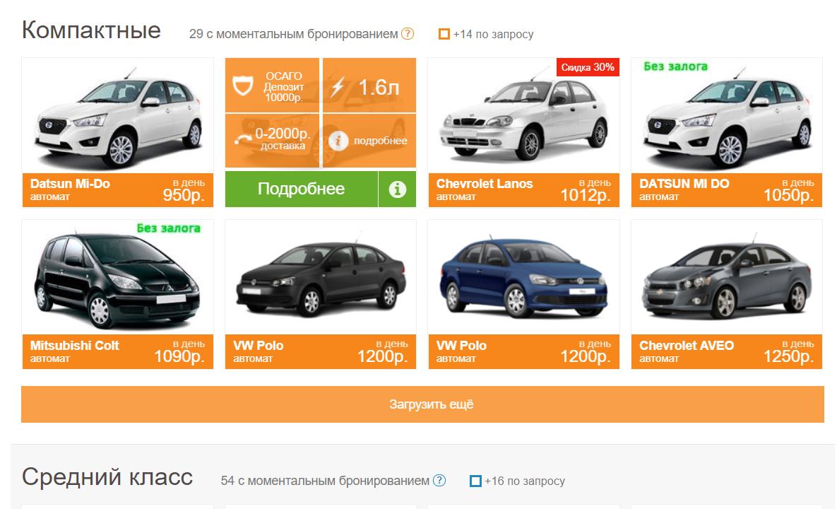 Прокат машины в Симферополе