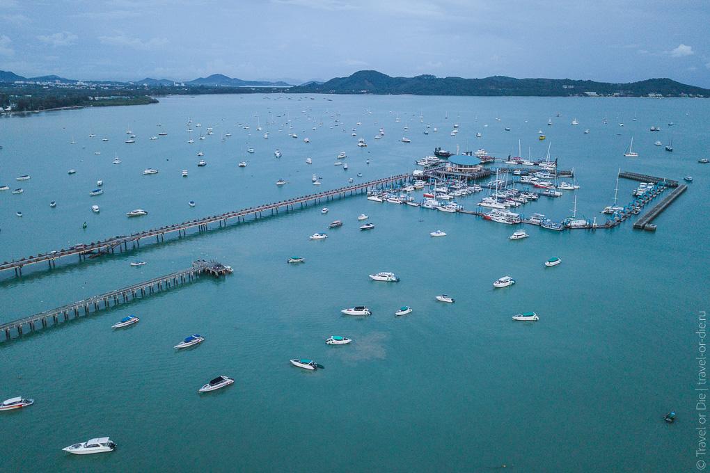 chalong pier phuket бухта чалонг пхукет 1