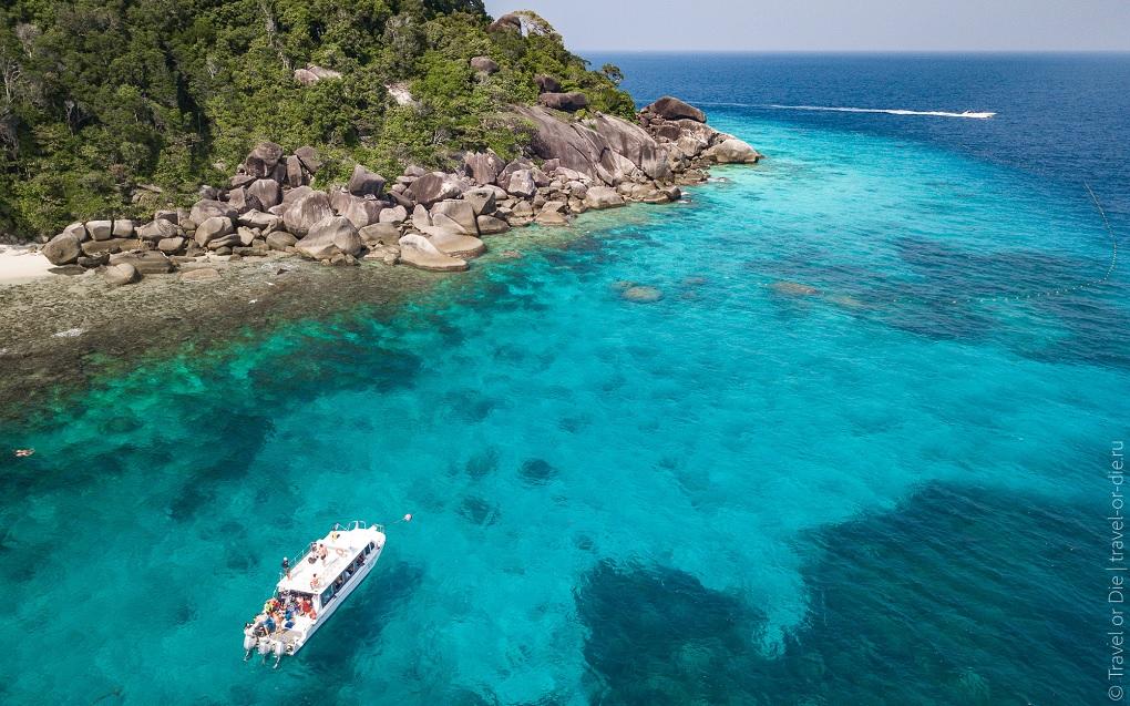симиланские острова симиланы пхукет таиланд