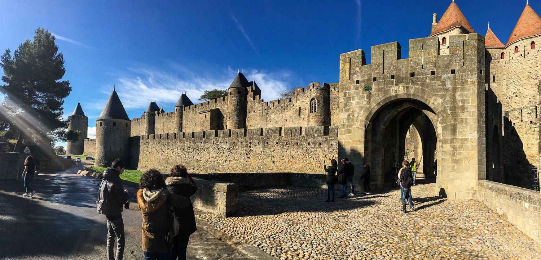 Замок Каркассон, Франция 01