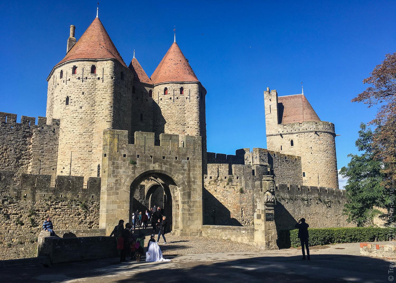 Замок Каркассон, Франция 05