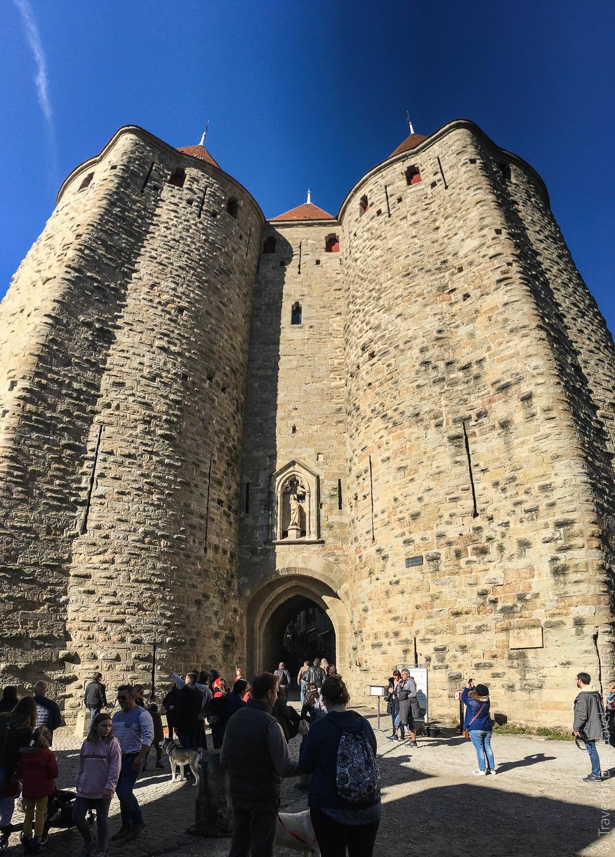 Замок Каркассон, Франция 06