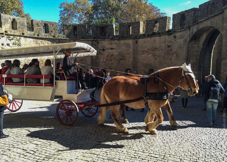 Замок Каркассон, Франция 19