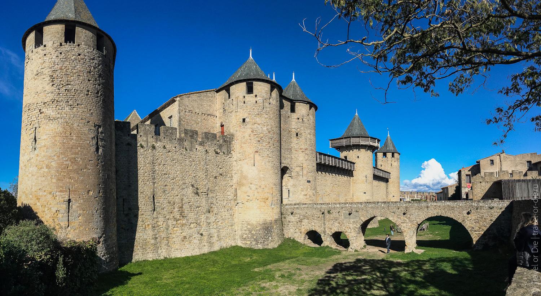 Замок Каркассон, Франция 22