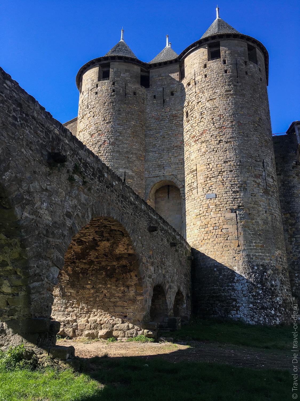 Замок Каркассон, Франция 23