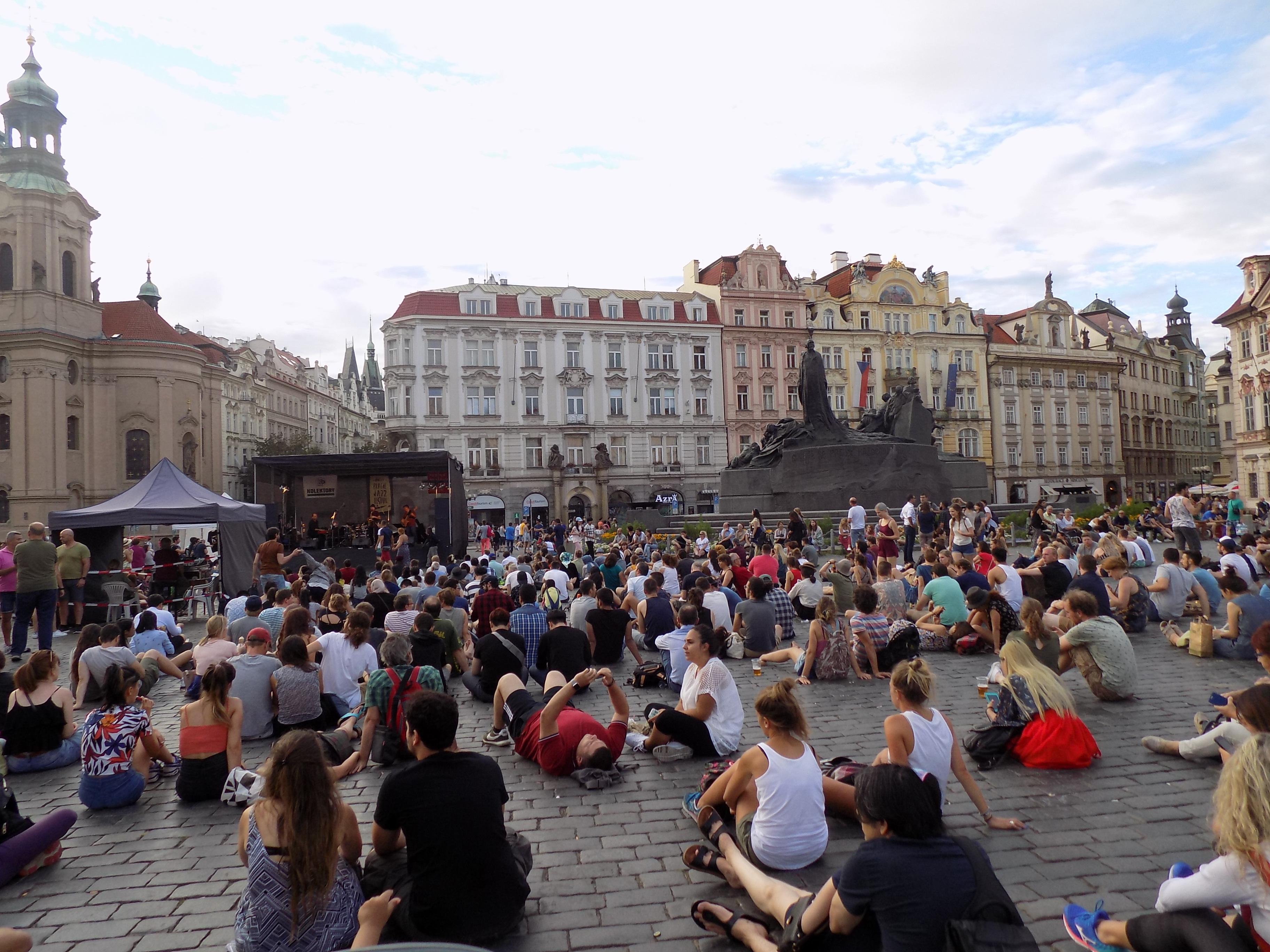 староместская площадь в праге old town square prague 3