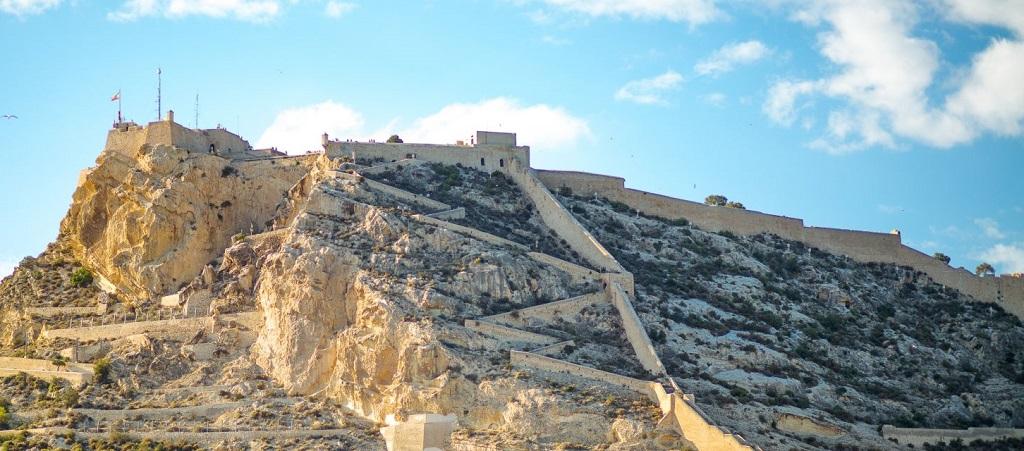 Достопримечательности Аликанте - Крепость Санта Барбара