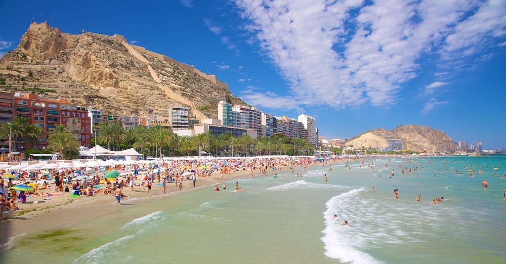 Достопримечательности Аликанте - Пляж Постигет