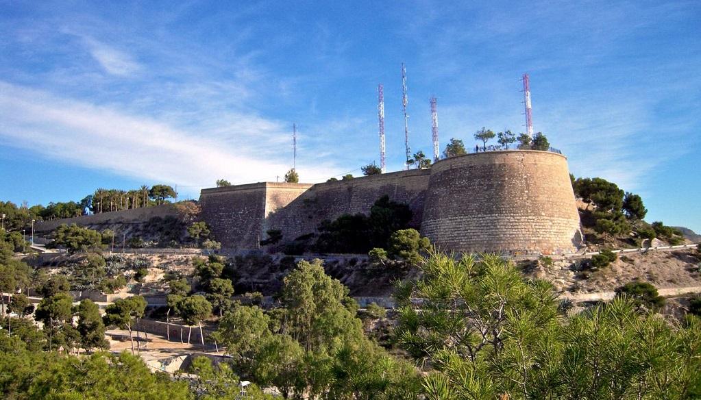 Достопримечательности Аликанте - Замок Сан Фернандо