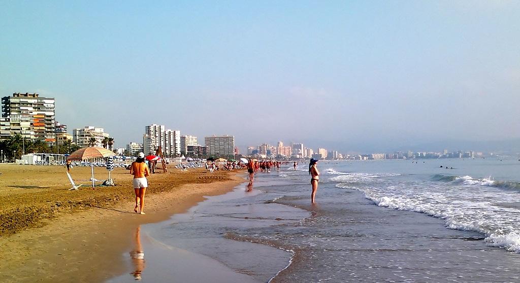 Достопримечательности Аликанте - пляж сан хуан