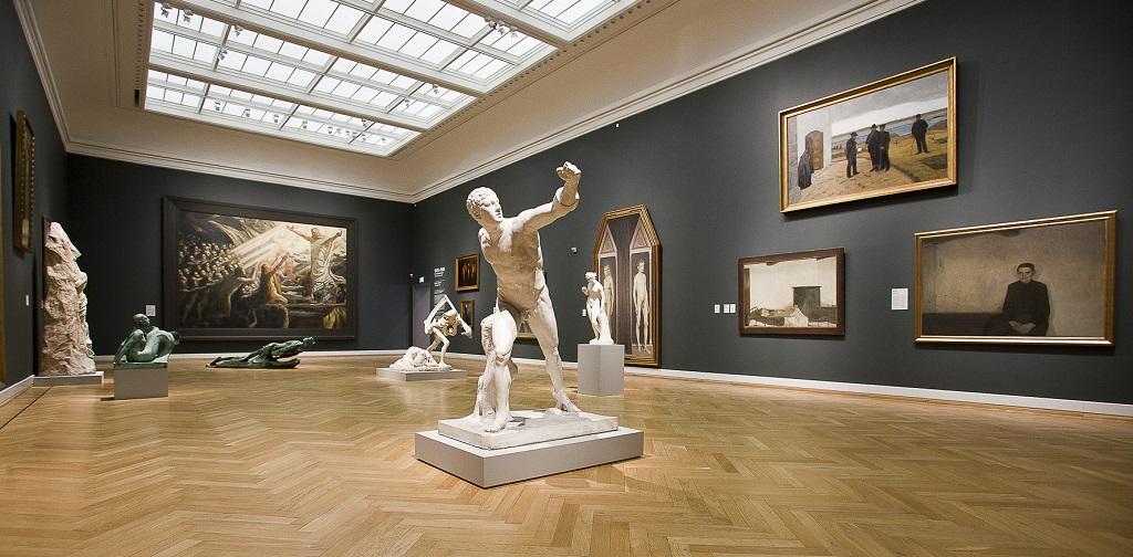 Достопримечательности Копенгагена - Государственный музей искусств