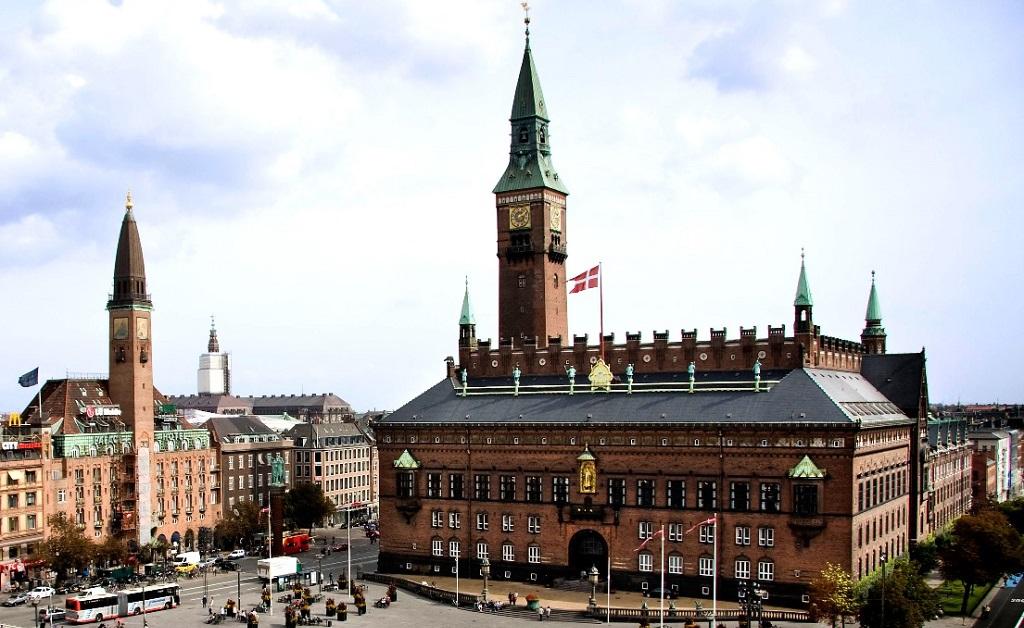 Достопримечательности Копенгагена - Копенгагенская ратуша